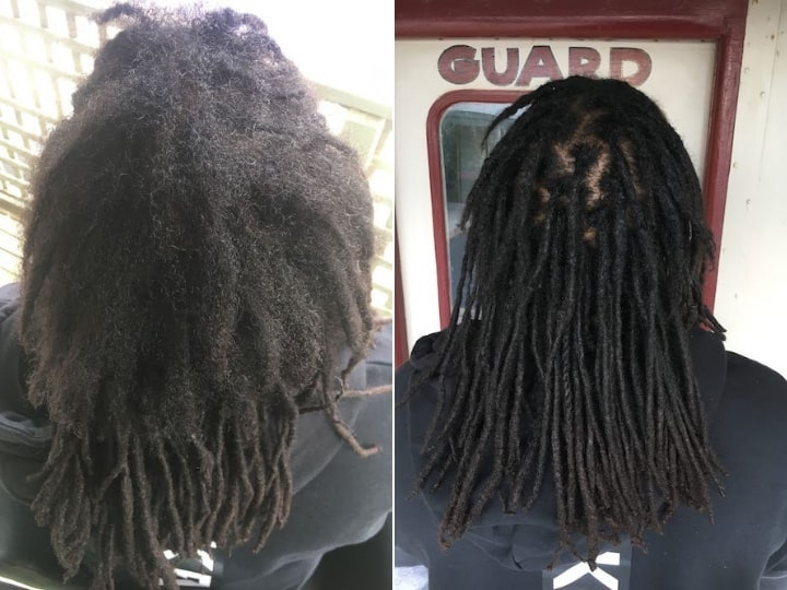 Dreadlocks repair reconstruction Chicago
